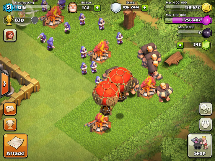 Army Camp - Offense - Clash Of Clans Guide - FreeApps.ws