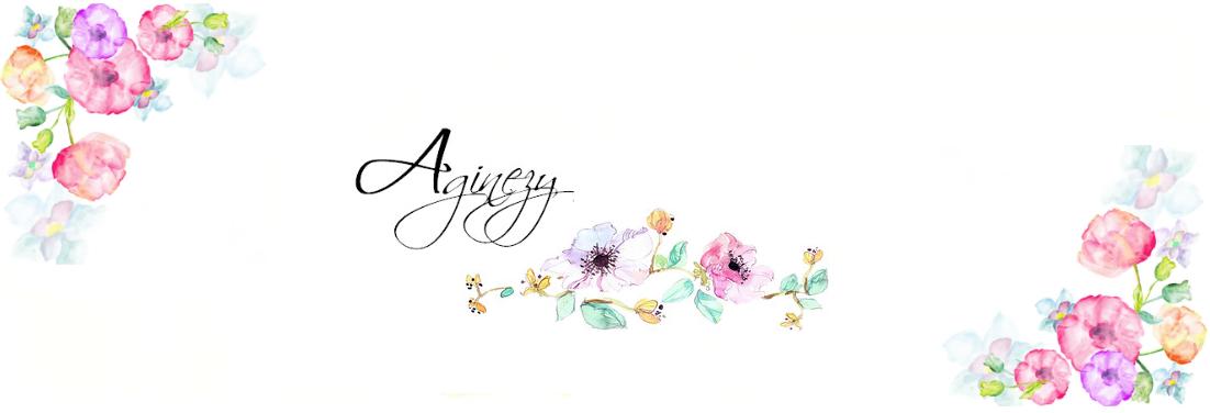 Aginezy - haft krzyżykowy, fotografia, diy