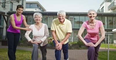Adultos mayores activos