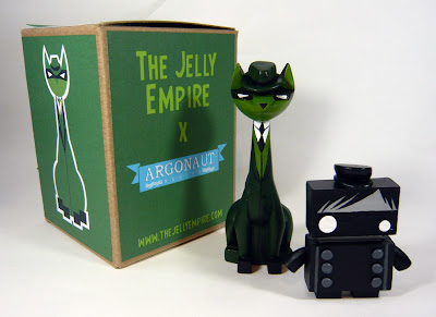 Bruce Lee Themed Green Hornet Tuttz & Kato JellyBot Resin Figure Set by The Jelly Empire