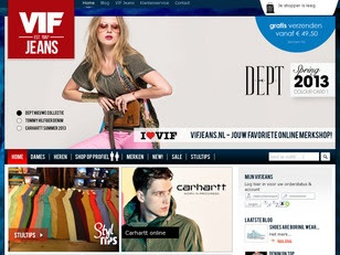 Ecommerce Website : VIF Jeans