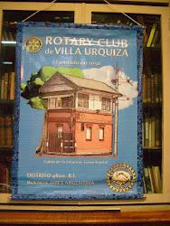 banderin del Rotary Club de Villa Urquiza