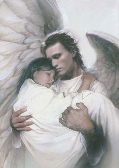 Los ángeles de Dios nos ayudan en nuestra salvación en cambio los del demonio son para  perdición