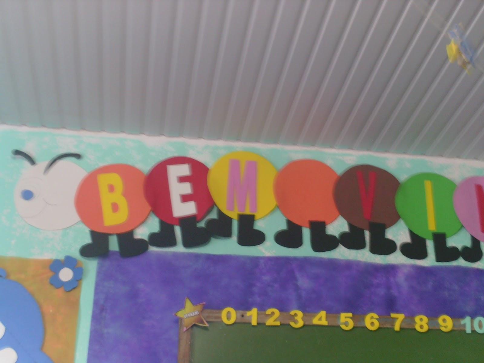 Suficiente Cheila Pinturas e Escolinha Bíblica: Decoração Sala Escola Dominical SB52