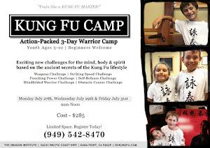 OC Kung Fu Camp