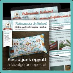 Online foltvarró magazin