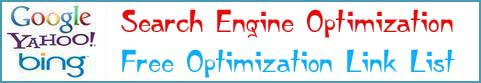 Search Engine Optimization - Free Optimization Link List