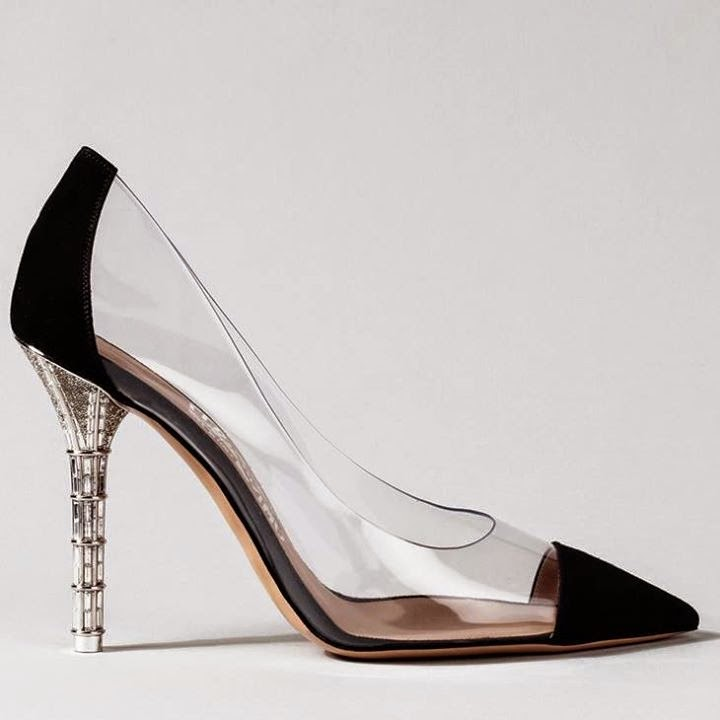 Transparent Spring Shoes Ideas.