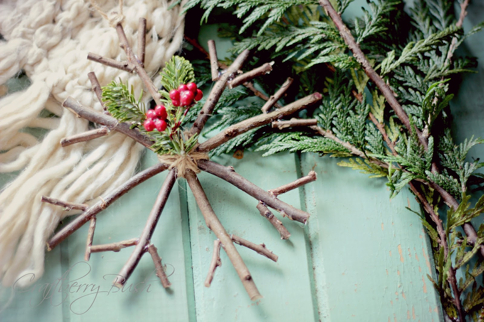 Rustic christmas decorations diy - 15 Minute Diy Christmas Ornaments