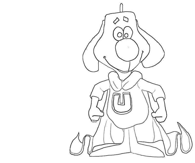 underdog coloring pages printable - photo#7
