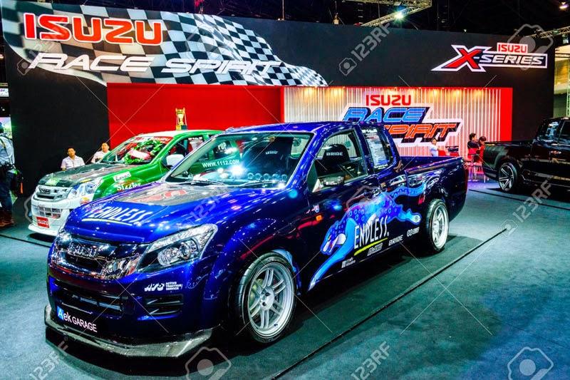 Modifikasi Mobil Isuzu D-Max Terbaru