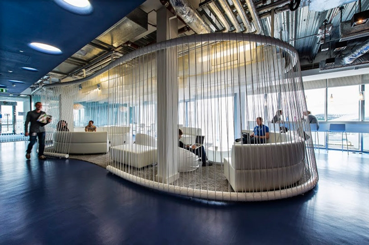 Hang out room in Google office in Dublin