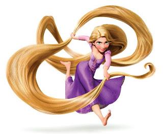Wallpaper gambar kartun Rapunzel