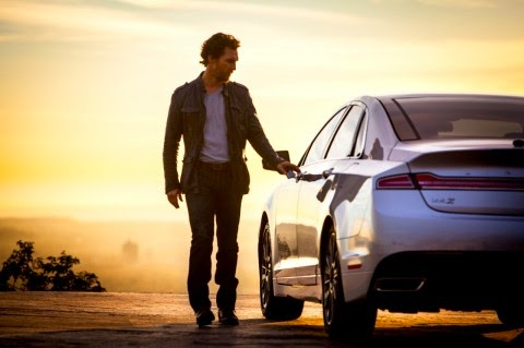 Matthew McConaughey to Star in New 2015 Lincoln MKZ Ads