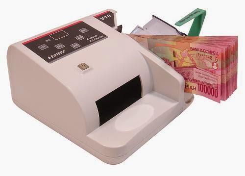Peralatan Kantor Mesin Penghitung Uang