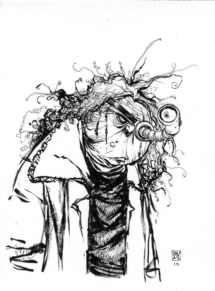 Skottieyoung Com Madeye Moody Daily Sketch