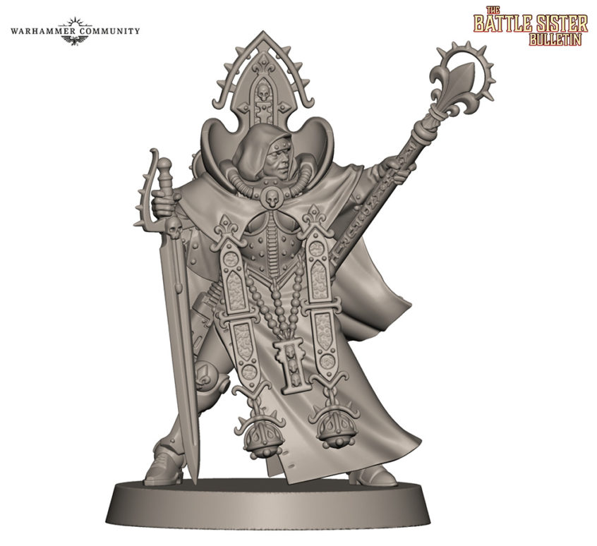 Canoness Reveal for Sisters of Battle