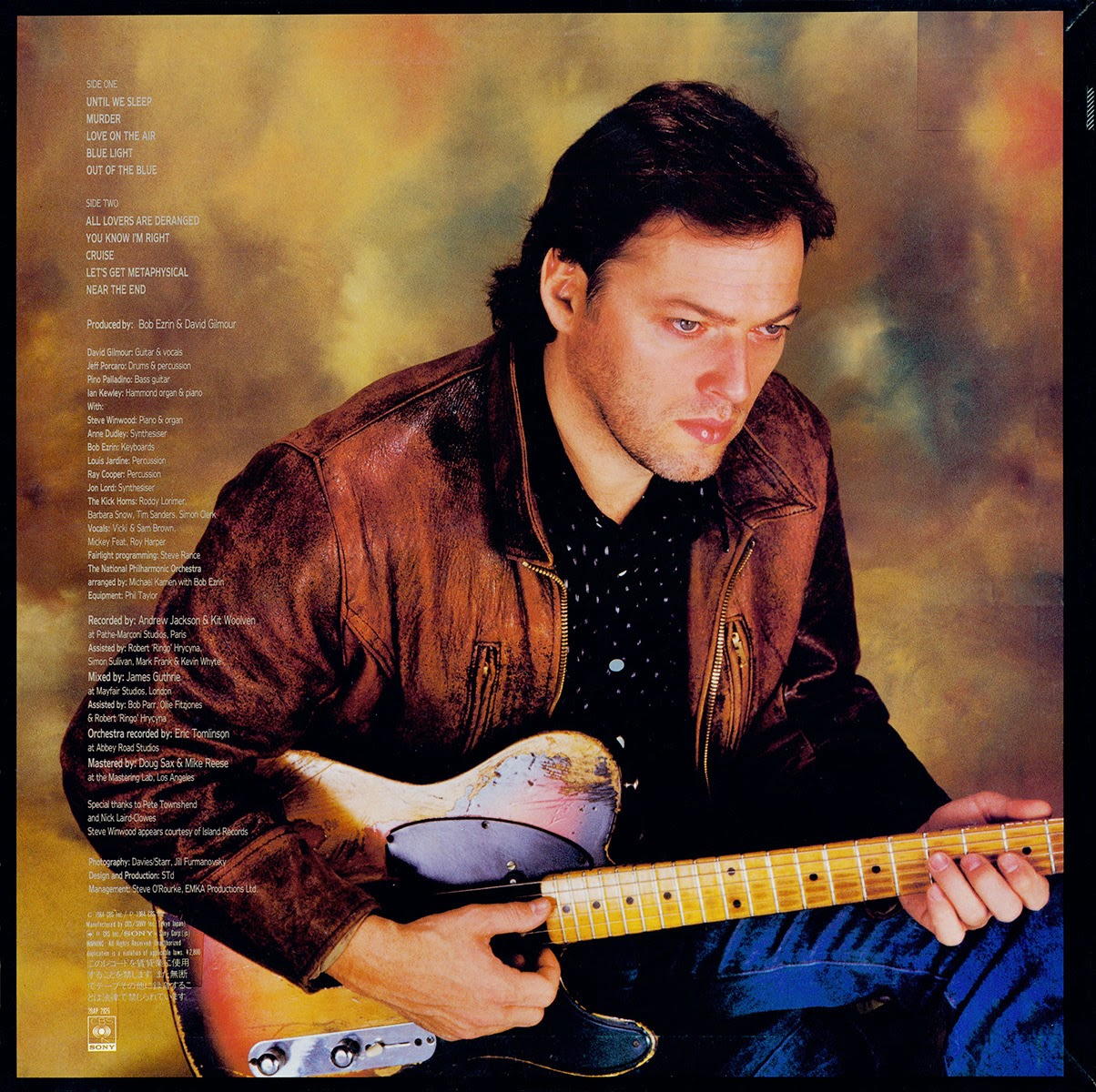 David Gilmour - Até Dormirmos