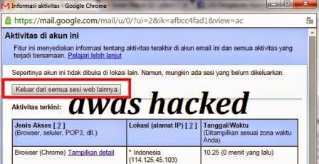 gambar cara Mencegah Akun Facebook Dan Email Gmail Di Hack