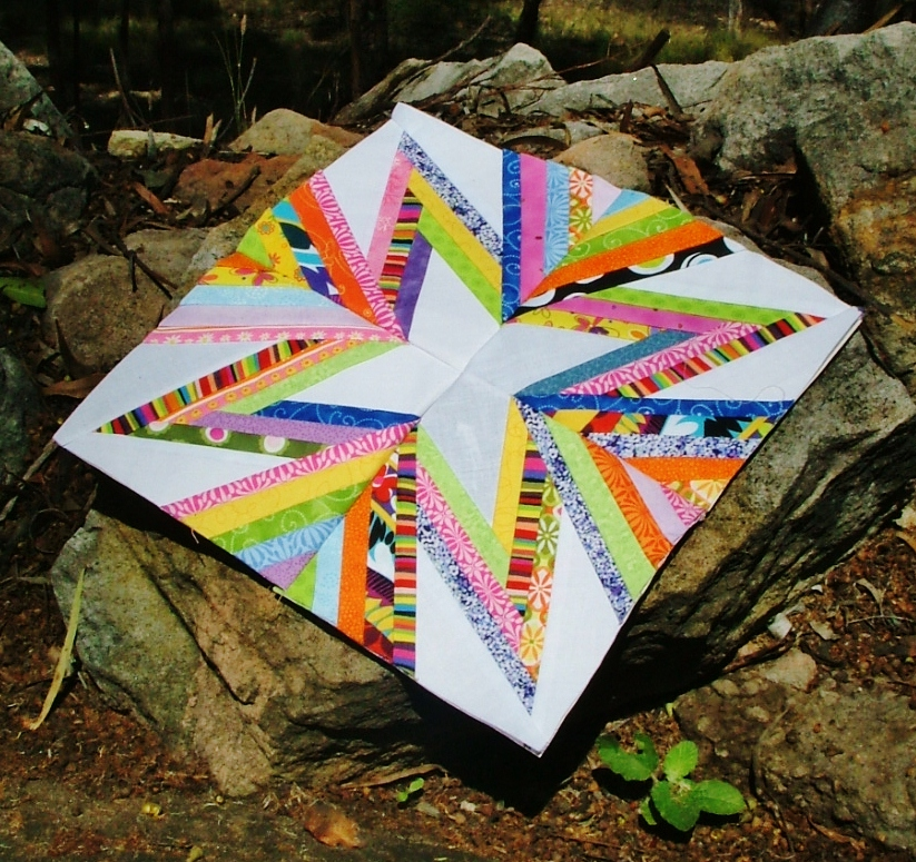 Foundation piecing star