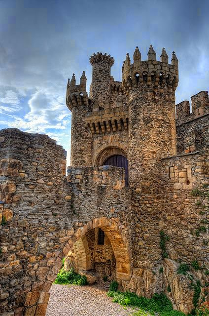 Castillo de los Templarios- Ponferrada León-Spain