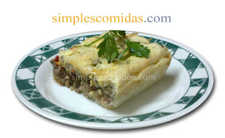 pastel de carne