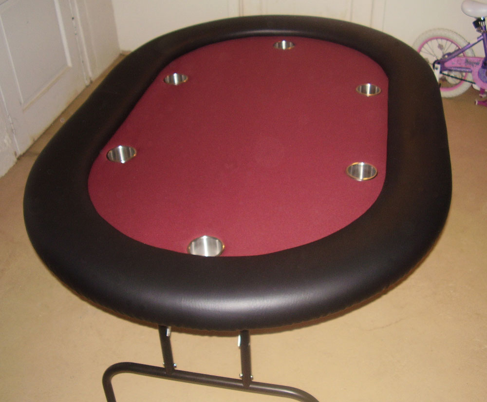 Top Table Cup Holders : How to build the classic poker table diy plans prepping