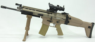 FN SCAR assault rifles