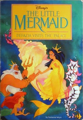 The Little Mermaid: Nefazia Visits The Palace