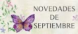 Novedades de septiembre