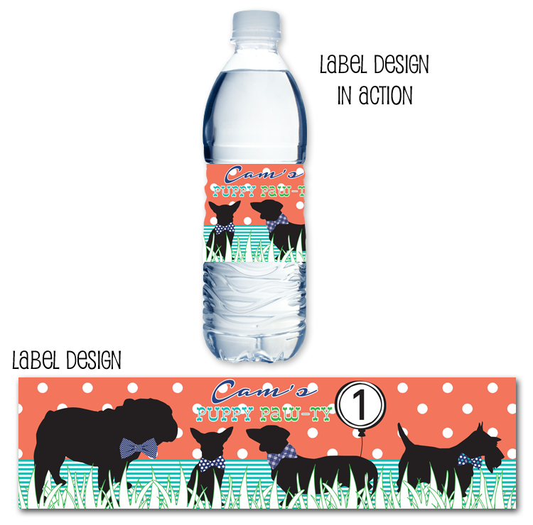 http://www.partyboxdesign.com/item_1691/Preppy-Puppy-Water-Bottle-Label.htm