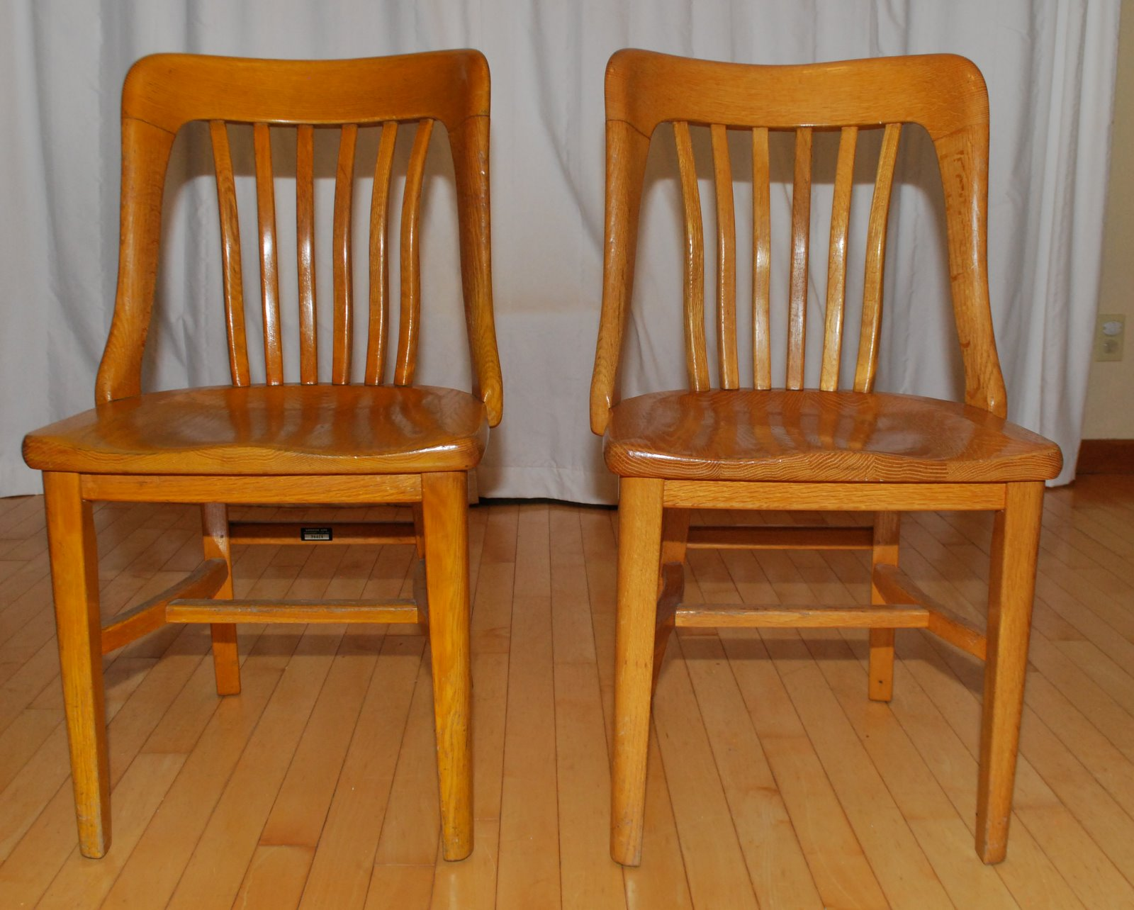 tribute 20th decor 1940 u0027s oak office chairs
