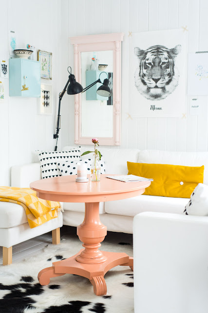 pastel home decor