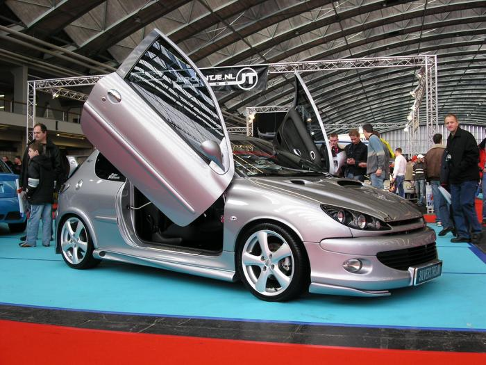 The original Peugeot 206 Escapade Concept