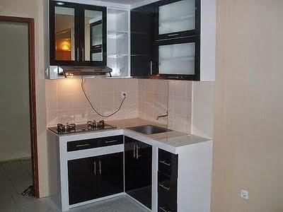 Gambar Contoh Dapur Rumah Minimalis Sederhana