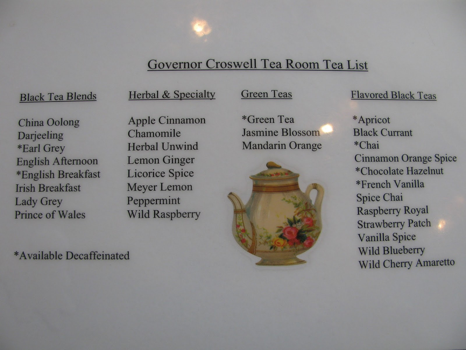 Tea Room In Adrian Michigan