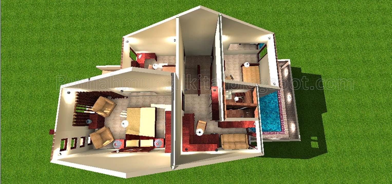 Renovasi Rumah Tipe 36 Tahun 90 m2