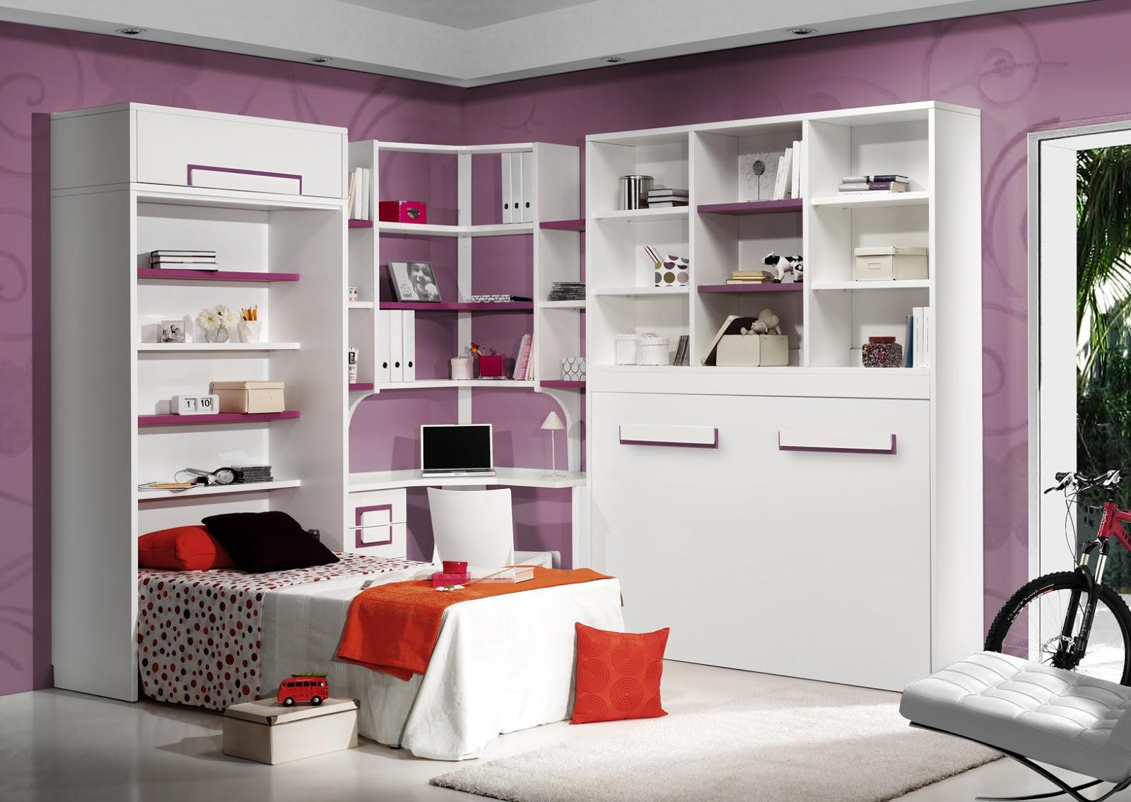 Soluciones para habitaciones peque as - Decoracion habitacion individual ...
