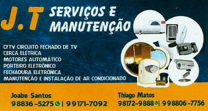 J.T - Serviços e Manutenção