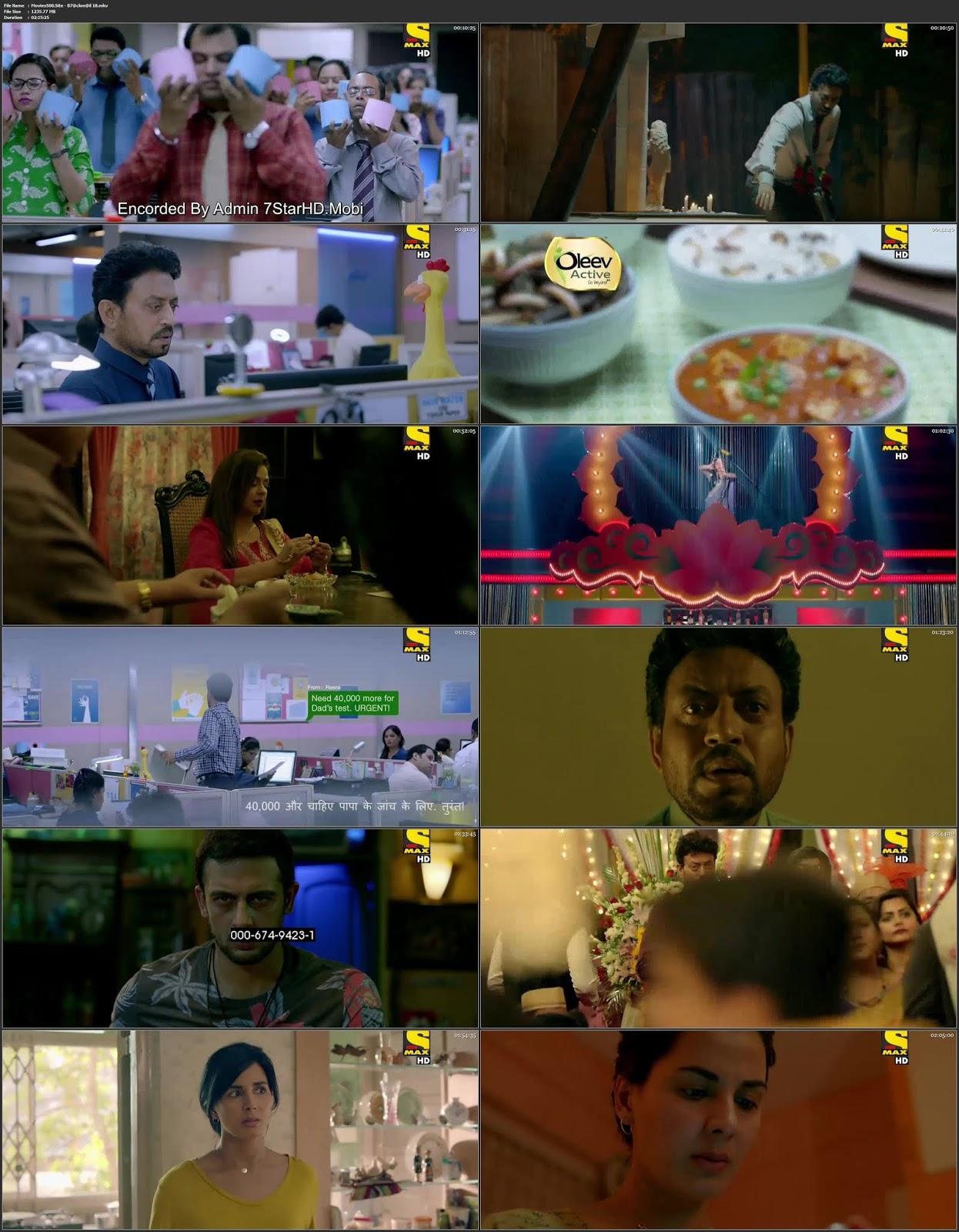 Blackmail 2018 Hindi Full Movie HDTV 720p 1.2GB