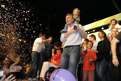 Macri festejó el resultado de las elecciones