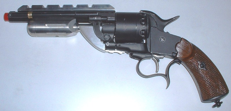 Future War Stories: FWS Armory: The Return of the Revolver!