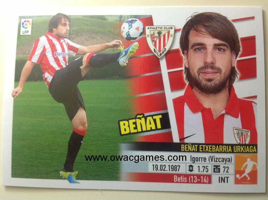 Liga ESTE 2013-14 Ath. Bilbao - Últimos Fichajes  24 - Beñat