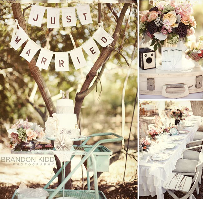 Inspirational Wednesday Vintage Style Weddings