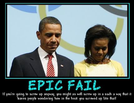 Obama epic failure
