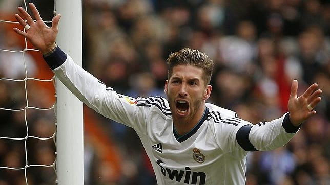 Sergio Ramos (3-0)  Jornada Jornada 35 - 26/04/2014