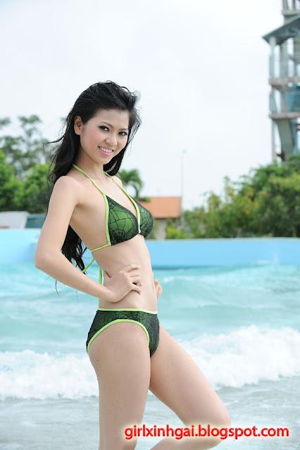 Hoa khôi áo tắm, miss bikini Vietnam, hình ảnh girl xinh bikini 19