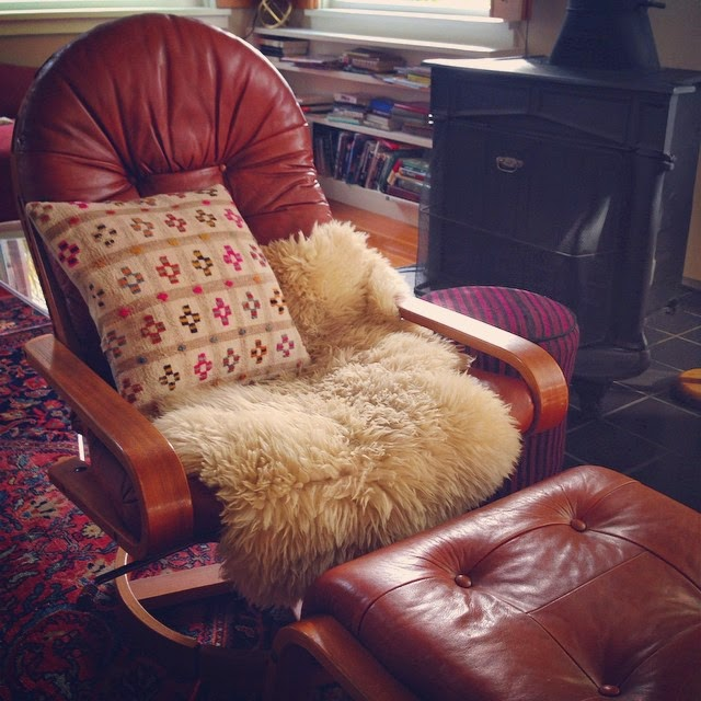 #thriftscorethursday Week 33 | Instagram user: redhousewest shows off this Rykken & Co of Norway Leather Chair