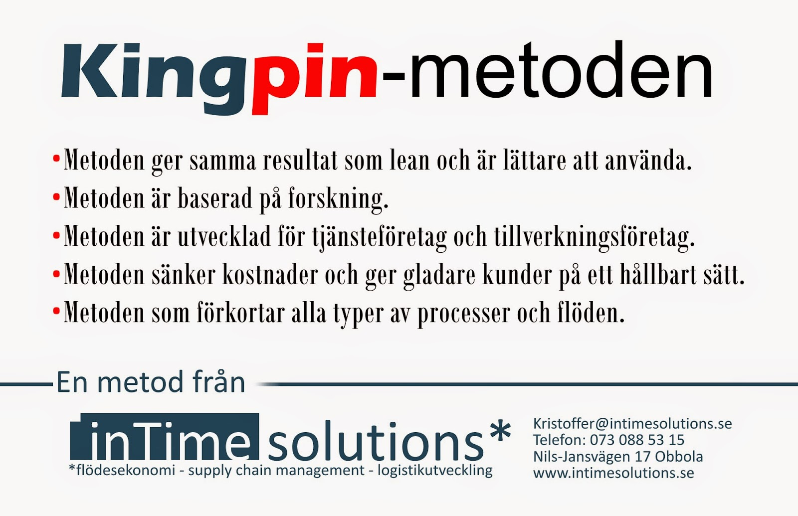 detta r kingpin metoden fr n intime solutions intime solutions nyheter. Black Bedroom Furniture Sets. Home Design Ideas