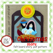 the Christmas Story Felt Board .PDF Pattern